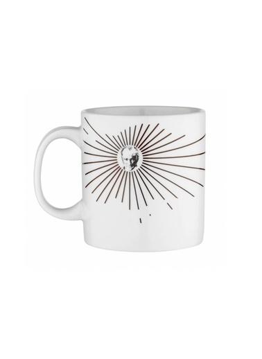Kütahya Porselen Mug Bardak Special Coll. Atatürk 10432 Renkli